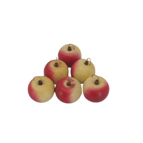 6 Apfel mit Haken