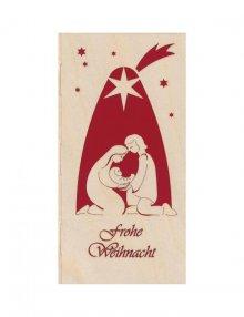 Weihnachtskarte Krippe